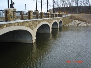 Architectural Concrete Bridge