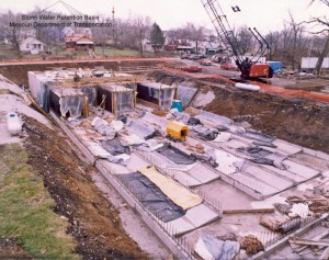 Storm Water Retention Basin Construction Project