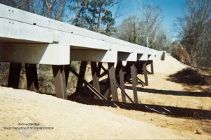 Texas Rail Bridge by Barcus