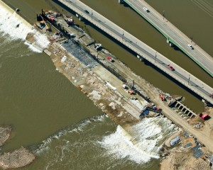 Waterway Bridge Construction