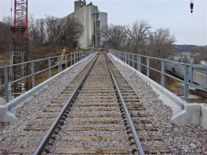 Constructed Rail Bridge